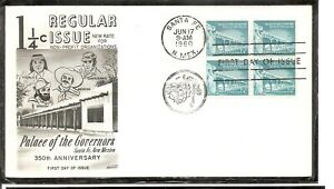 US-SC-1054a-Palace-Of-Governors-FDC-Fleetwood-Cachet