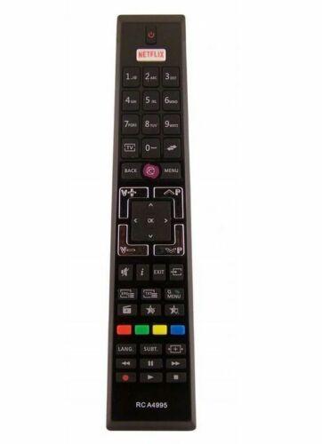 Remote Control RCA4995 for Vestel Telefunken Medion RCA4995 43HL7510U 32FHC5620