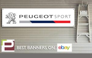 Peugeot Sport Banner for Workshop, Garage, Office, Showroom, GTi, 208, 308 etc