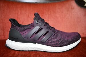 newest f5649 3734f Details about NEW Adidas Womens UltraBoost W Mystery Ruby Maroon Black  S82058 Size 11.5