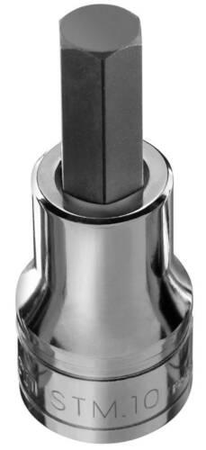 "Nouveau-FACOM STM.14 1//2/"" Drive Hexagonale Bit Socket 14 mm Hex Key Socket"
