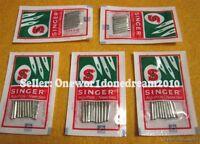 50x Singer Needles Lot Regular Ball Point 2020 Size 110/18 New Wholesale Size 18