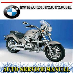BMW R850C R850 C R1200C R1200 C BIKE REPAIR SERVICE MANUAL ~ DVD