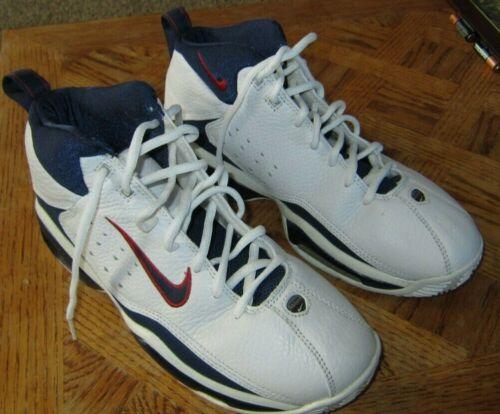 Vintage Team Nike Air 4.0 Shoes Men's 9.5 Basketba