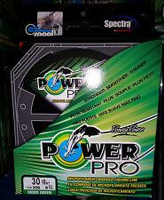 Power Pro Spectra braided fishing line 30 lb 300 yard moss Green