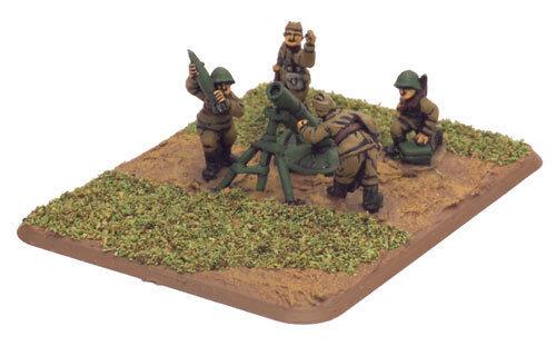 Flames of War Heavy Mortar Company Soviet Miniatures SU711