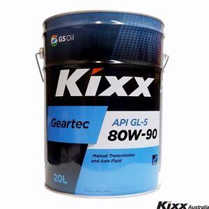 Kixx-Geartec-GL-5-80W-90-Multipurpose-Gear-Oil-20-Litre