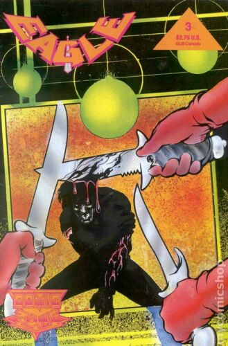 Eagle The Dark Mirror Saga #3 FN 1992 Stock Image