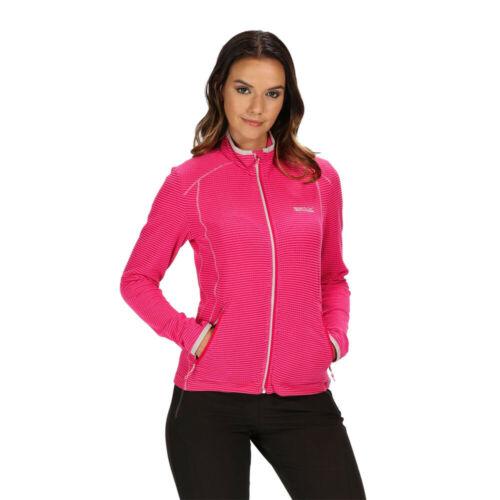 Regatta Womens Willett Fleece Jacket Top Pink Sports Outdoors Breathable