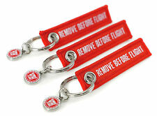 REMOVE BEFORE FLIGHT -beidseitig- MINI 3er Set rot
