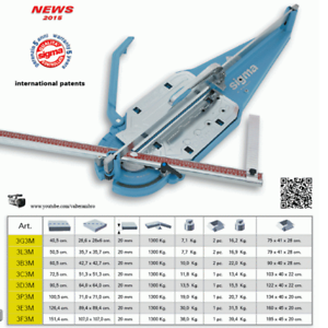 Image Is Loading Sigma 3c3m Max Professional Tile Cutter 72cm New