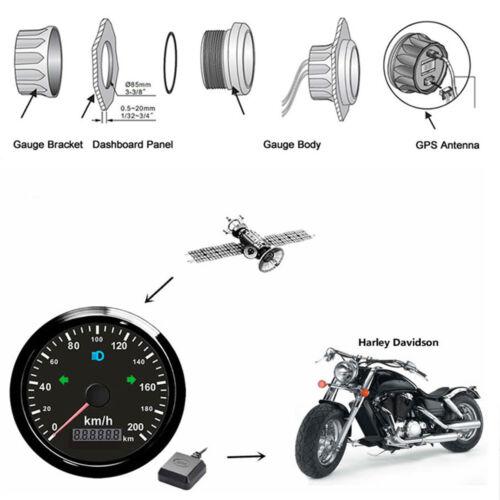Auto & Motorrad: Teile Kilometerzhler toimitilaa.fi 85mm Motorrad ...
