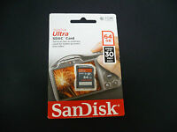 Sandisk Ultra 64gb Sdxc Class 10/uhs-1 Flash Memory Card For Sony Ax53 Handycam