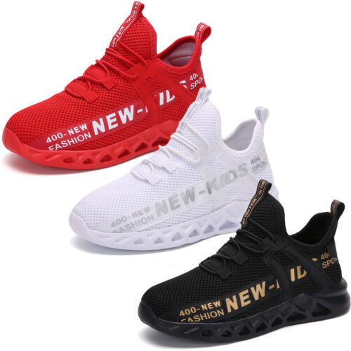 Boys Shoes Trainers Sport Shoes Lightweight Mesh Trekking Shoes For Kid Girl