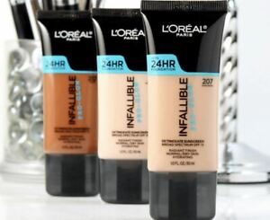 L'Oreal Paris Infallible Up To 24HR Pro-Glow Foundation,*You Choose*