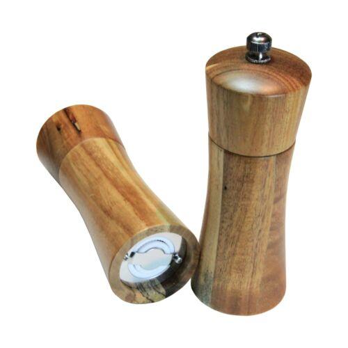 Falkenbach ® salzmühle /& poivre moulin set en bois d/'acacia Céramique Broyeur 13,5 cm