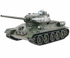 1:16 Taigen RC Soviet T34/85 Battle Tank Airsoft 2.4GHz Metal Edition Infrared