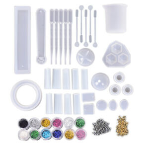 1Set-Epoxy-Resin-Mold-Mix-Dropper-Sequins-Cup-DIY-Jewelry-Making-Tools-Creati-ZF