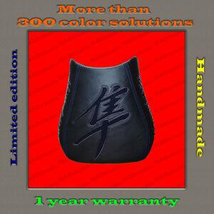 Design-Front-Seat-Cover-Suzuki-Hayabusa-99-07-HANDMADE-black-dark-blue-gloss-1-2