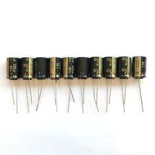 10 Elko low Impedance condensador radial Panasonic FM 220uf 50v 105 ° C 860422