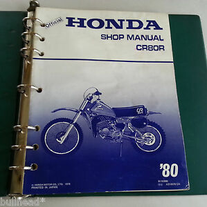 Ebay honda motorcycles user manuals array 1980 honda cr80r motorcycle factory service manual ebay rh ebay com fandeluxe Choice Image