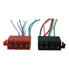 Cable-iso-adaptateur-pour-AUTORADIO-STANDARD