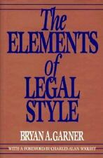 The Elements of Legal Style-ExLibrary