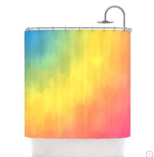 Kess InHouse Sea Oats Polyester Shower Curtain RB1021ASC01