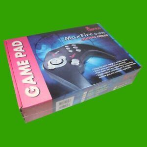 Genius-Game-Pad-MaxFire-G-09D-Digital-Force-fuer-Game-Port-Anschluss