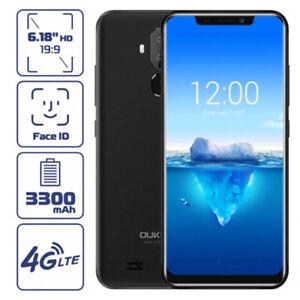Oukitel-C12-Pro-NUOVO-Android8-1-FACE-ID-4G-Smartphone-TELEFONO-3Cam-2-16GB-Nero