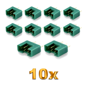 10-unidades-MPX-male-conector-m6-6pin-multiplex-style-6-polos-35a-verde-Plug-hembra