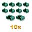 10-Stueck-MPX-Male-Stecker-M6-6PIN-Multiplex-Style-6-Polig-35A-Gruen-Plug-Buchse Indexbild 1
