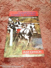COMPETITION CARRIAGE DRIVING ON A SHOESTRING - JINNY JOHNSON PAPERBACK