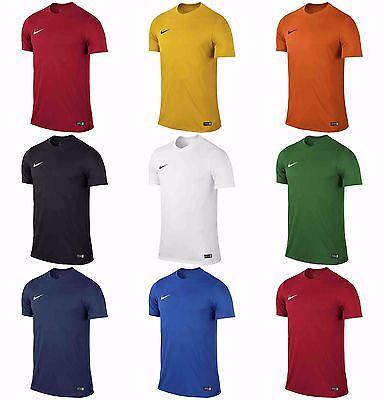 Ragazzi Nike Park T Shirts Sports Football Palestra Bambini Formazione Top Jersey Dri Fit-mostra Il Titolo Originale Fabbricazione Abile