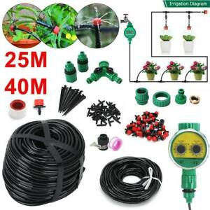 40M-25M-Automatic-Micro-Drip-Irrigation-Watering-Garden-Plant-Greenhouse-System