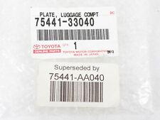 GENUINE LEXUS LUGGAGE COMPT PLATE 75441-53071 !