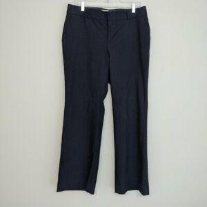 Banana Republic Martin Fit Dress Pants Size 10 Wool Blend Lined Career Trouser