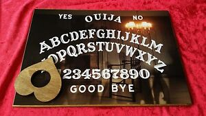 Wooden-Ouija-Board-The-Empty-Spirit-Chair-amp-Planchette-amp-Instructions-Ghost