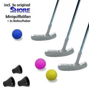 Minigolfset-FAMILY-9-teilig-je-3x-Schlaeger-Ball-Pick-fuer-Gross-und-Klein