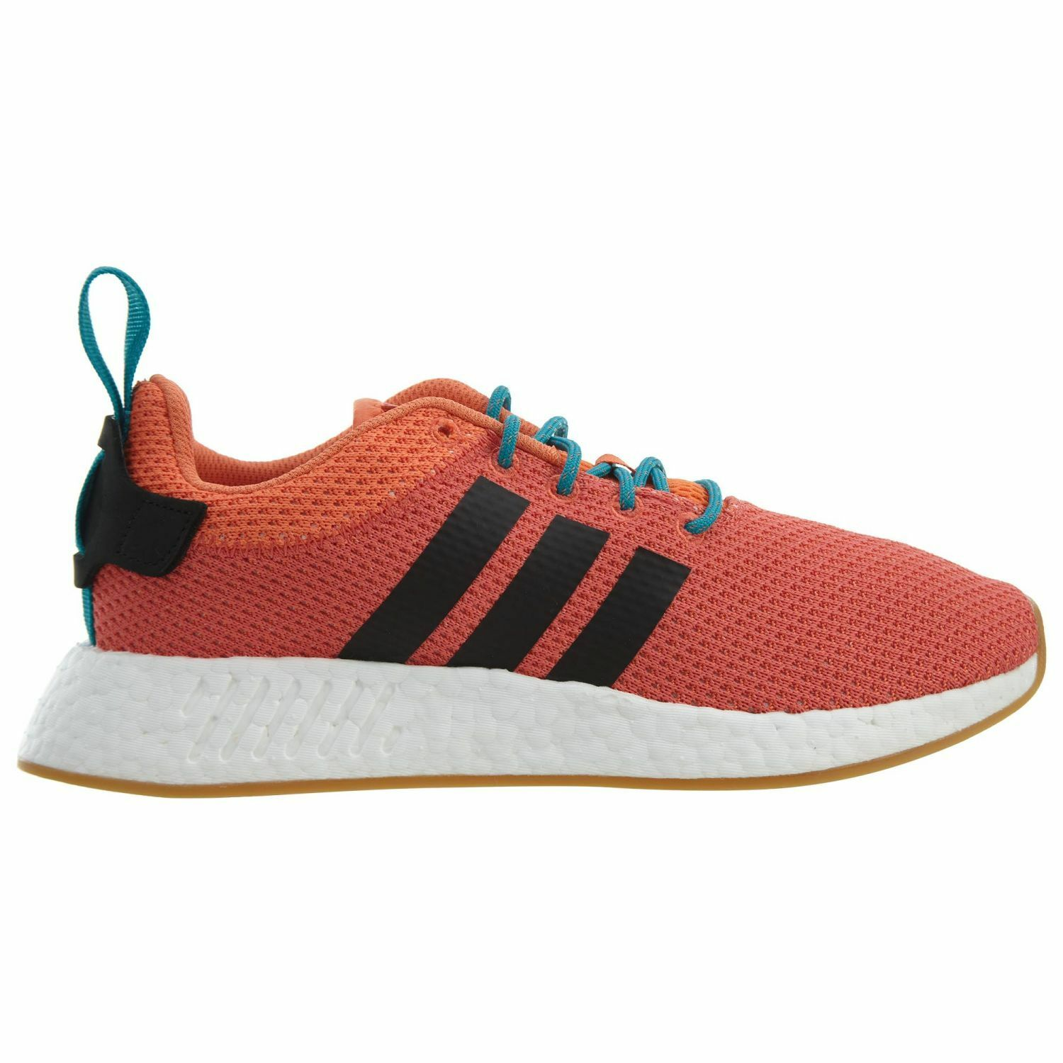 Adidas NMD_R2 Summer Mens CQ3081 Trace Orange Knit Boost Running Shoes Size 9