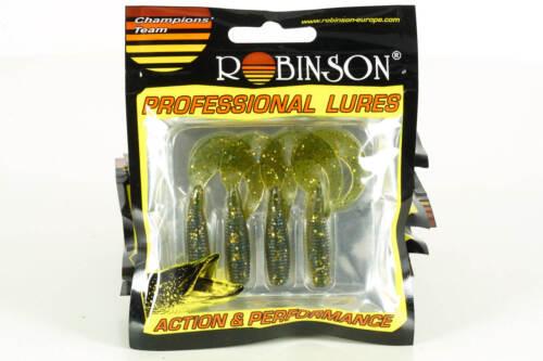 51-C Robinson Professional Twister Classic 5cm//4Stk Farbe T10 Weichköder