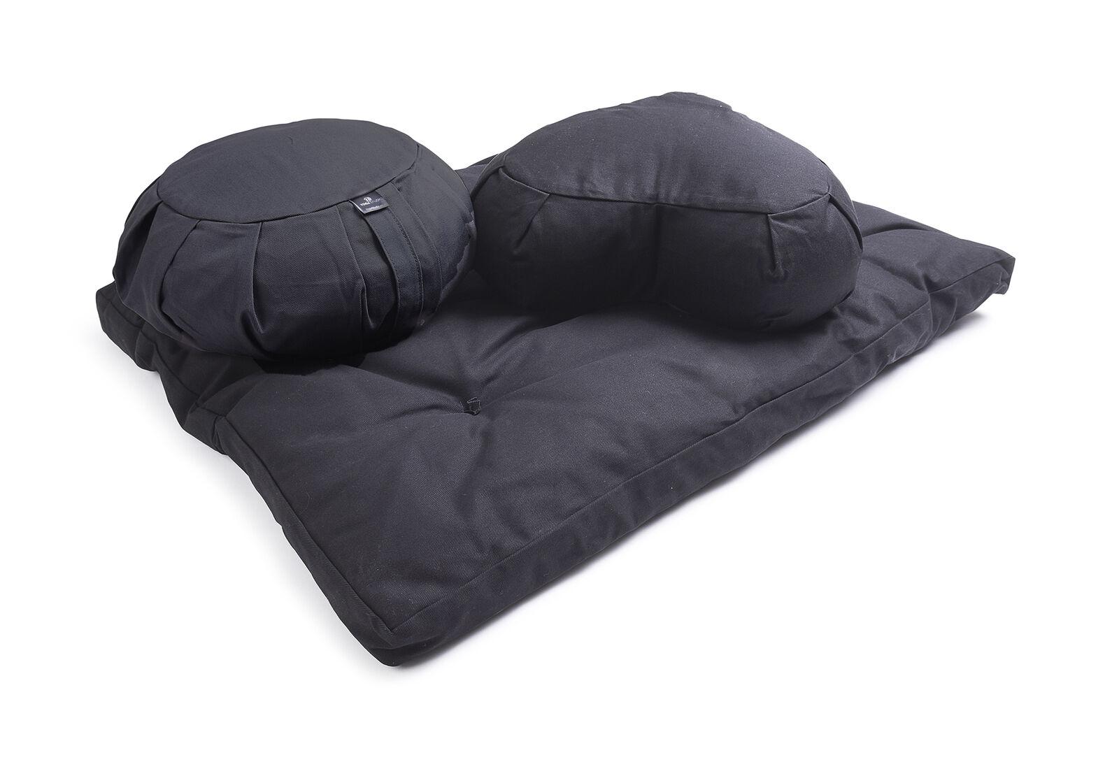Studio Yoga Crescent EU Organic Zabuton, Crescent Yoga e Kit per cuscino rotondo 0e22d0
