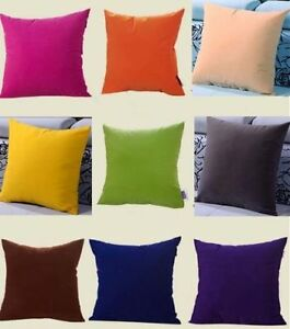 Blank-Plain-Square-Throw-Pillow-Case-Sofa-Waist-Cushion-Cover-Home-Decor-WI