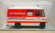 """Brekina - MB L 508 RTW Rettungswagen """"Feuerwehr Stuttgart"""" - Nr. 36905 - 1:87"""