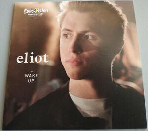 2021 Eurovision - Belgium 2019. Wake Up - Eliot.  ( Promo CD Single.)
