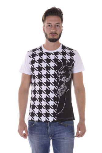 T shirt Maglietta Versace Jeans Sweatshirt SLIM Cotone Uomo Bianco B3GQA712 3