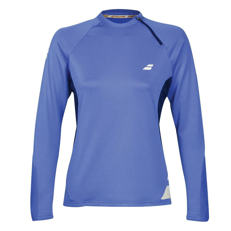Babolat Women's Performance 1 2 Zip Lightweight Breathable Tennis Sweatshirt