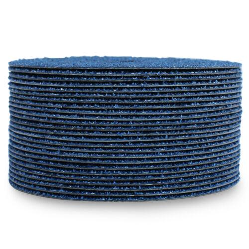 """100 Pack 5/"""" Zirconia Resin Fiber Disc 36 Grit 5 inch Grinding /& Sanding Discs"""