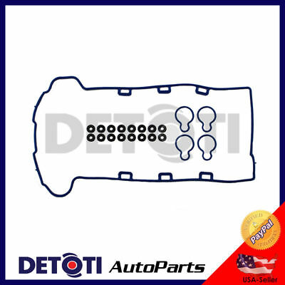 2.2L DOHC Ecotec Engine Valve Cover Gasket Set Fits 00-06 Chevrolet Pontiac