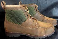 Polo Ralph Lauren Mens Rupert Boot Size 10.5 D Snuff Olive Oil Mattes/Oil C